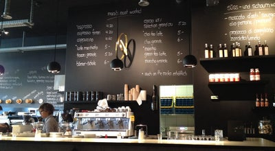 Photo of Cafe Mani's coffee + wine bar at Panoramastrasse 1a, Thun, Switzerland