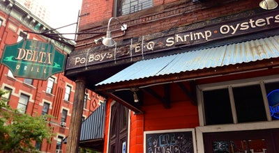 Photo of Cajun / Creole Restaurant The Delta Grill at 700 9th Ave, New York, NY 10036, United States