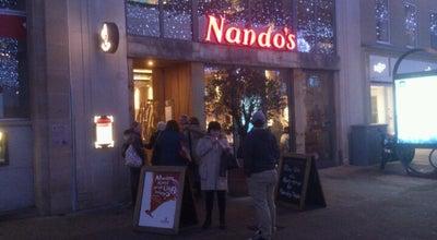 Photo of Portuguese Restaurant Nando's at 4 Cathedral Sq, Peterborough PE1 1XH, United Kingdom