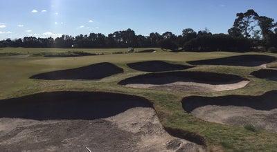 Photo of Golf Course Kingston Heath Golf Club at 70-120 Kingston Rd, Heatherton, Au 3192, Australia