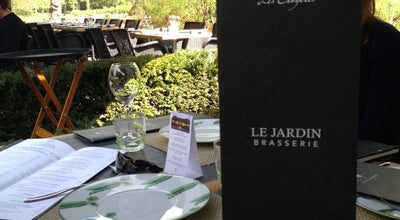 Photo of French Restaurant Brasserie Le Jardin - Les Crayères at Domaine Les Crayères, Reims 51100, France