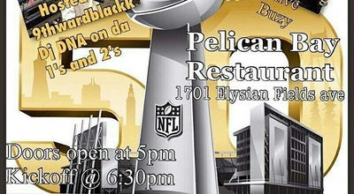 Photo of American Restaurant The Pelican Bay at 1701 Elysian Fields Ave, New Orleans, LA 70117, United States
