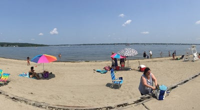 Photo of Beach Goddard Park Beach Near Bridge at United States