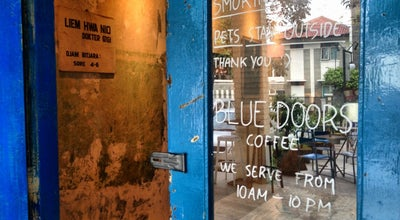 Photo of Coffee Shop Blue Doors Coffee at Jl. Gandapura No. 61, Bandung, Indonesia