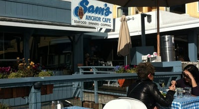 Photo of Seafood Restaurant Sam's Anchor Cafe at 27 Main St, Tiburon, CA 94920, United States