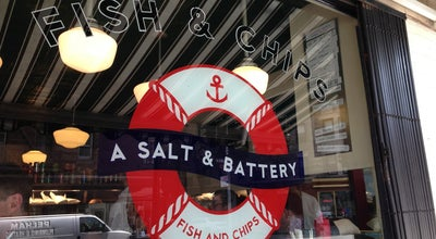 Photo of Fish and Chips Shop A Salt & Battery at 112 Greenwich Ave, New York, NY 10011, United States