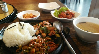 "Photo of Korean Restaurant Yoogane 닭 갈비 at Baros ""town Place Residence"", Indonesia"