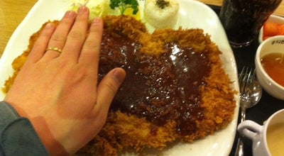 Photo of Restaurant 홍익돈까스 at 장안구 정자로41번길 13, 수원시, South Korea