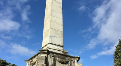 Photo of Monument / Landmark Seddon Memorial at Bolton St Memorial Park, Wellington, New Zealand