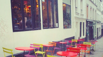 Photo of French Restaurant Cafe La Laverie at 1, Rue Sorbier, Paris 75020, France