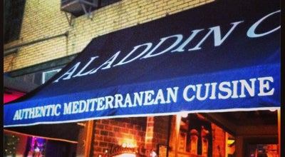 Photo of Mediterranean Restaurant Aladdin Cafe at 1021 Massachusetts St, Lawrence, KS 66044, United States