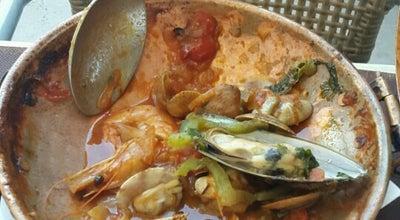 Photo of Seafood Restaurant Restaurante Tasca do Viegas at Travessa Cais Herculano 2, Albufeira 8200-194, Portugal