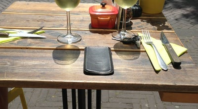 Photo of Cafe Blij | Ontbijt, Lunch en Diner at Dunne Bierkade 1a, Den Haag 2512 BC, Netherlands