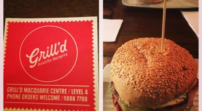 Photo of Burger Joint Grill'd at Level 4, Macquarie Centre, North Ryde, NS 2113, Australia