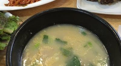 Photo of Food 밀양순대돼지국밥 at 해운대구 구남로24번길 3, 부산광역시 612-821, South Korea