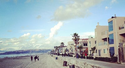 Photo of Beach Mission Beach Boardwalk at 2688 E Mission Bay Dr, San Diego, CA 92109, United States