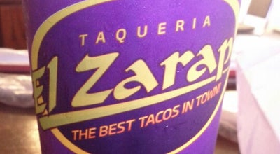 Photo of Taco Place Taqueria El Zarape at 1821 N Texas Blvd, Weslaco, TX 78599, United States
