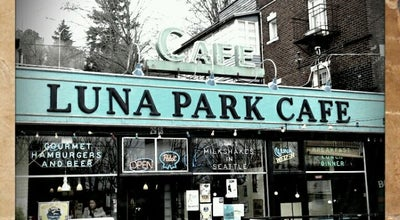 Photo of Diner Luna Park Cafe at 2918 Sw Avalon Way, Seattle, WA 98126, United States