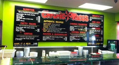 Photo of Taco Place Chronic Tacos at 7621 Edinger Ave, Huntington Beach, CA 92647, United States