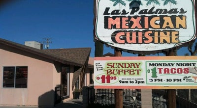 Photo of Mexican Restaurant Las Palmas Mexican Cuisine at 55792 29 Palms Hwy, Yucca Valley, CA 92284, United States