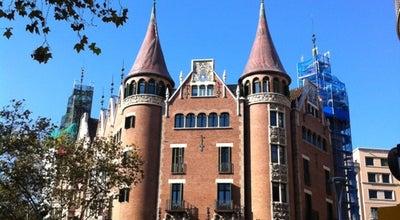 Photo of Monument / Landmark Casa Terrades (Casa de les Punxes) at Av. Diagonal, 416-420, Barcelona 08037, Spain