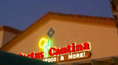Photo of Mexican Restaurant Cactus Cantina at 151 E Alessandro Blvd, Riverside, CA 92508, United States