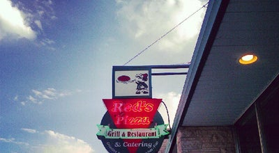 Photo of Pizza Place Red's Pizza & Catering at 1123 Oregon St, Oshkosh, WI 54902, United States