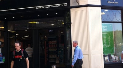Photo of Bookstore Waterstones at 2a The Hayes, Cardiff CF10 1WB, United Kingdom