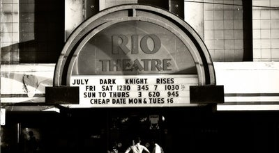 Photo of Music Venue The Rio Theatre at 1660 East Broadway, Vancouver, Ca, Canada