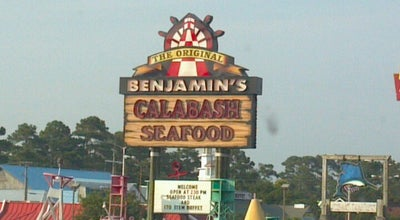 Photo of Seafood Restaurant The Original Benjamin's Calabash Seafood at 9593 N Kings Hwy, Myrtle Beach, SC 29572, United States