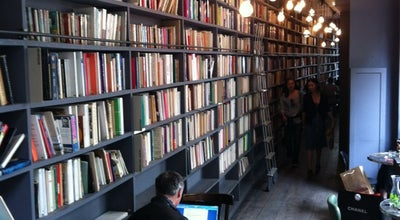 Photo of Cafe Used Book Café at 111 Boulevard Beaumarchais, Paris 75003, France