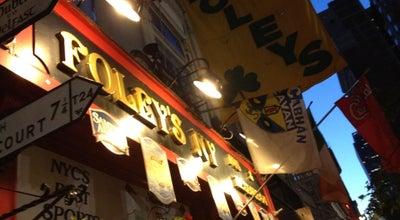 Photo of Sports Bar Foley's NY at 18 W 33rd St, New York, NY 10001, United States