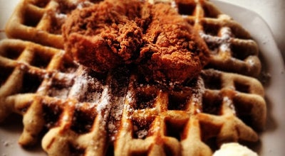 Photo of Southern / Soul Food Restaurant Dame's Chicken & Waffles at 301 Martin Luther King Jr Dr, Greensboro, NC 27406, United States