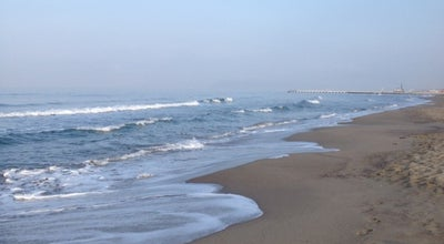 """Photo of Beach Spiaggia libera """"le dune di Forte"""" at Forte dei Marmi, Italy"""