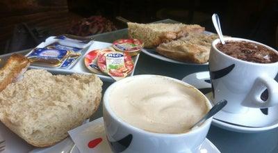 Photo of Tea Room Vinoteca Albarella at Av. Da Coruña, Santiago de Compostela, Spain