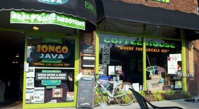 Photo of Coffee Shop Jongo Java at 152 1st Ave. W, Hendersonville, NC 28792, United States