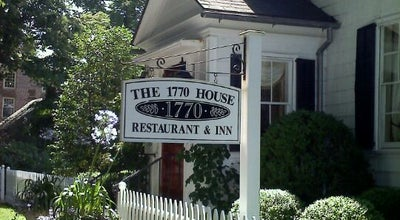 Photo of New American Restaurant 1770 House at 143 Main Street, East Hampton, NY 11937, United States
