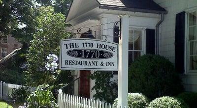 Photo of New American Restaurant 1770 House at 143 Main Street, East Hampton, NY 11937, United States