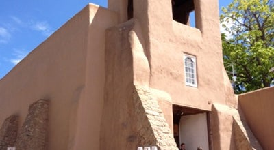 Photo of Church San Miguel Mission at 401 Old Santa Fe Trl, Santa Fe, NM 87501, United States