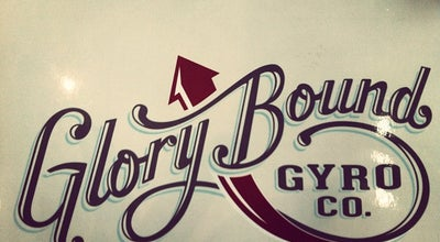 Photo of Greek Restaurant Glory Bound Gyro Company at 2325 University Blvd, Tuscaloosa, AL 35401, United States