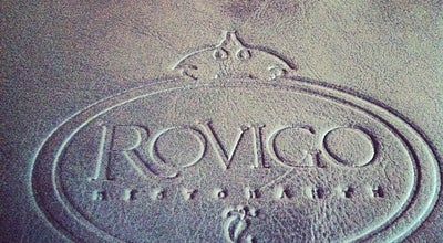 Photo of Italian Restaurant Rovigo Ristorante at Av. Maria Aparecida Muniz Michelin, 1335, Araras, Brazil