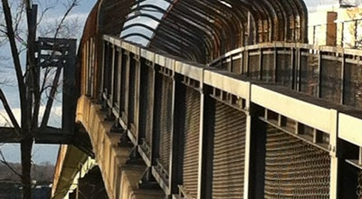 Photo of Trail 395 cross walk bridge at Alexandria, VA 22302, United States