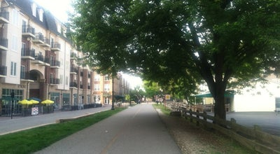 Photo of Trail Monon Trail Entrance at Main Street Apartments at Carmel, IN, United States