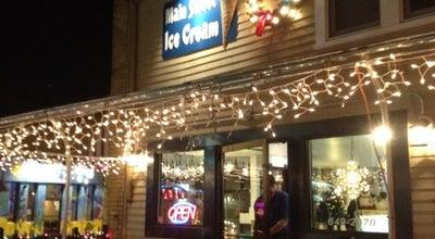 Photo of Ice Cream Shop Main Street Ice Cream at 35 Main St, Hamburg, NY 14075, United States