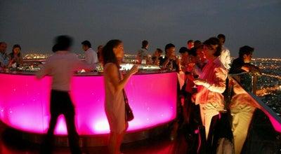 Photo of Cocktail Bar Sky Bar at Lebua At State Tower, Bang Rak 10500, Thailand