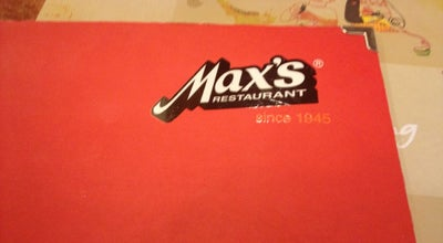 Photo of Fried Chicken Joint Max's Restaurant at Tfc, San Fernando, La Union, Philippines