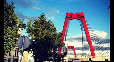 Photo of Monument / Landmark Willemsbrug at Willemsbrug, Rotterdam 3011, Netherlands