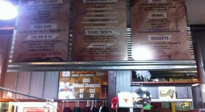Photo of American Restaurant Serious Texas Barbeque at 650 S Camino Del Rio, Durango, CO 81301, United States