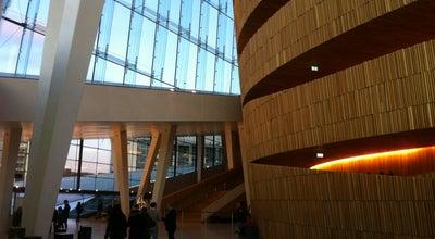 Photo of Opera House Operahuset at Kirsten Flagstads Plass 1, Oslo 0150, Norway