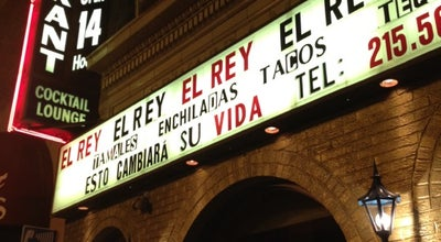 Photo of Mexican Restaurant El Rey at 2013 Chestnut St, Philadelphia, PA 19103, United States